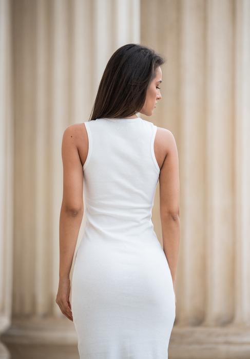 Rochie Hera Stramta Off-White [4]