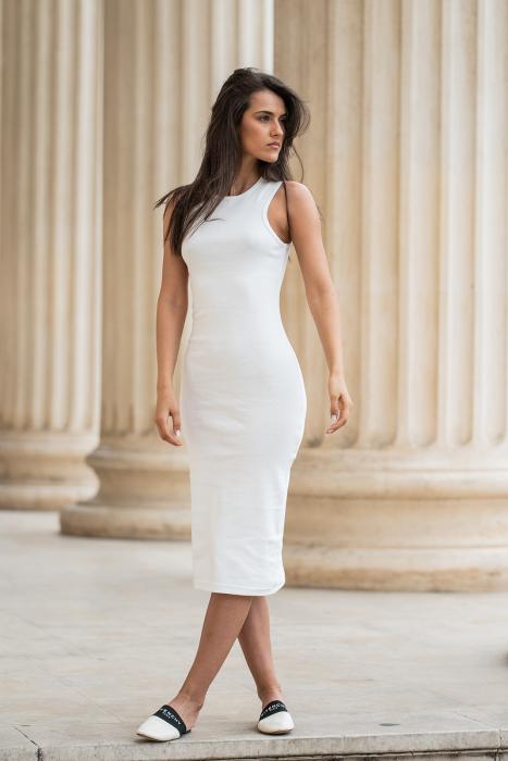 Rochie Hera Stramta Off-White [2]