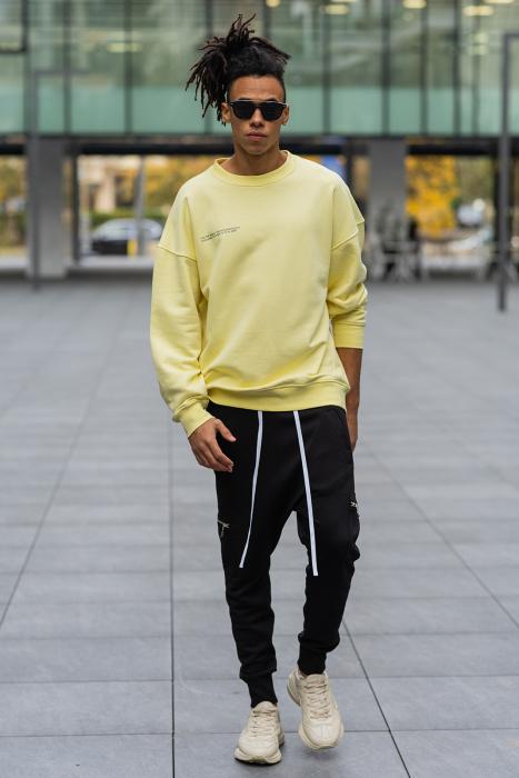 Bluza West Cartel Oversized Yellow [4]