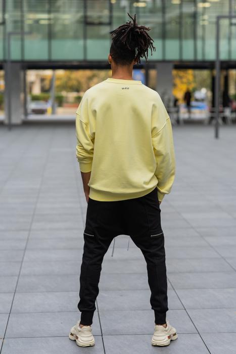 Bluza West Cartel Oversized Yellow [5]