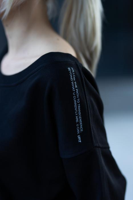 Set Undone Bluza si Pantalon Scurt Black [6]