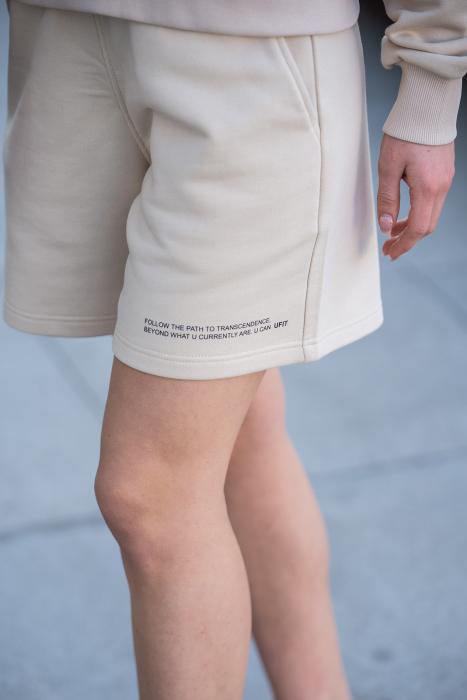 Set Elise Bluza si Pantalon Scurt Light Beige [7]