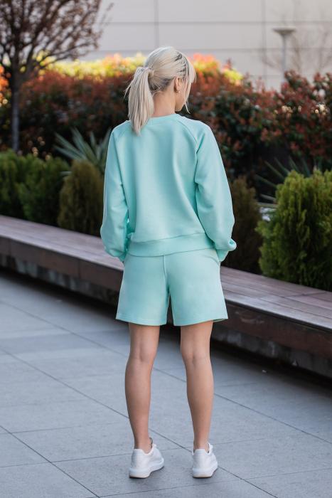 Set Elise Bluza si Pantalon Scurt Mint [4]