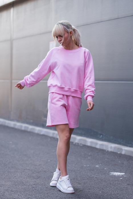 Set Elise Bluza si Pantalon Scurt Rose [1]