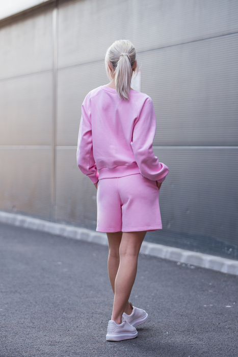 Set Elise Bluza si Pantalon Scurt Rose [5]