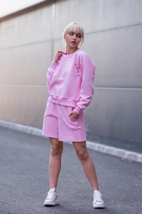 Set Elise Bluza si Pantalon Scurt Rose [0]