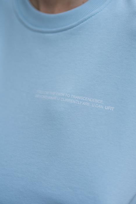 Set bluza si pantalon Oversized Easy-Fit Sky Blue [6]