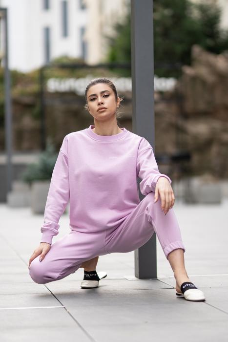 Set bluza si pantalon Oversized Easy-Fit Lila [4]