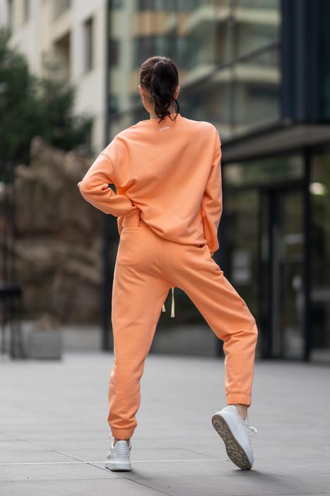 Set Easy-Fit bluza si pantalon Oversized Papaya [3]