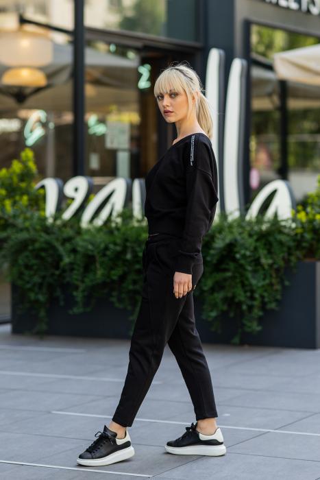 Set Unbroken II bluza si pantalon Black [1]