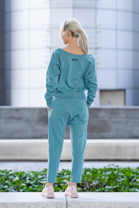 Set Unbroken II bluza si pantalon Dusty Turquoise [2]