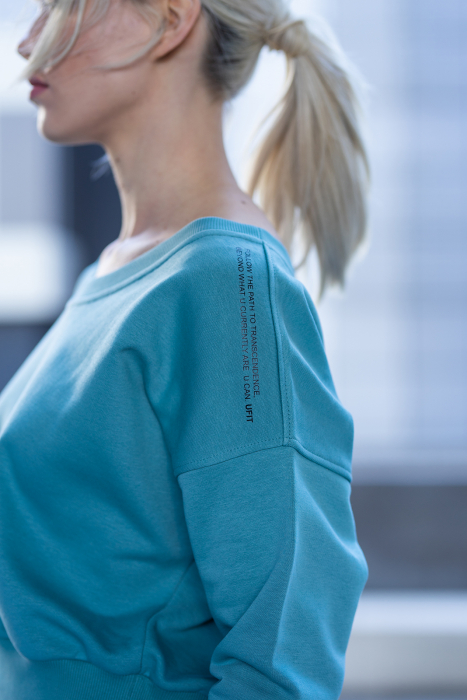 Set Unbroken II bluza si pantalon Dusty Turquoise [3]