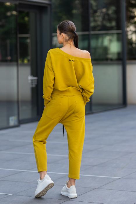 Set Unbroken II bluza si pantalon Mustard [3]