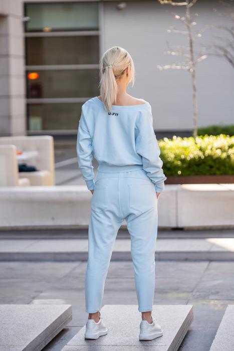Set Unbroken II bluza si pantalon Sky Blue [4]
