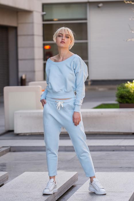 Set Unbroken II bluza si pantalon Sky Blue [0]