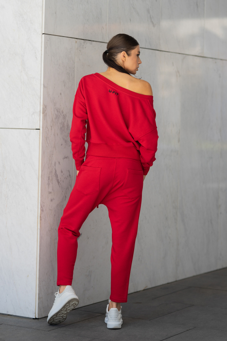 Set Unbroken II bluza si pantalon True Red [7]