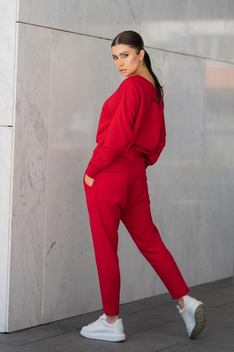Set Unbroken II bluza si pantalon True Red [4]