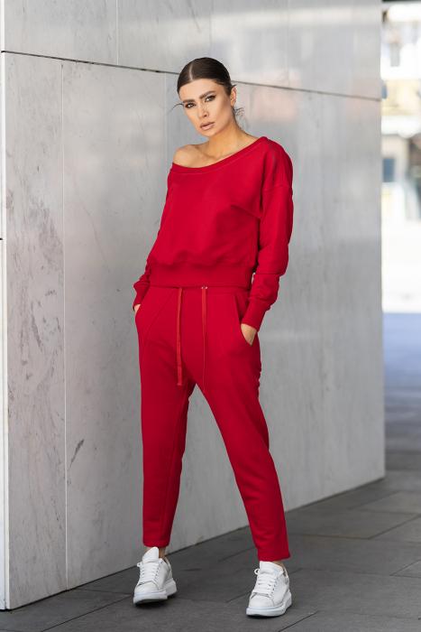 Set Unbroken II bluza si pantalon True Red [0]