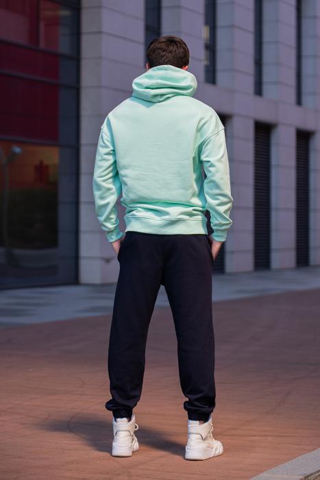Set Cotton California hanorac si pantalon Mint/Navy [3]