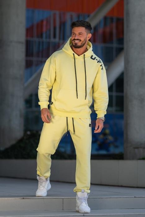 Set Cotton California hanorac si pantalon Yellow [3]