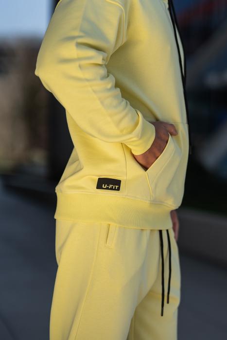 Set Cotton California hanorac si pantalon Yellow [10]