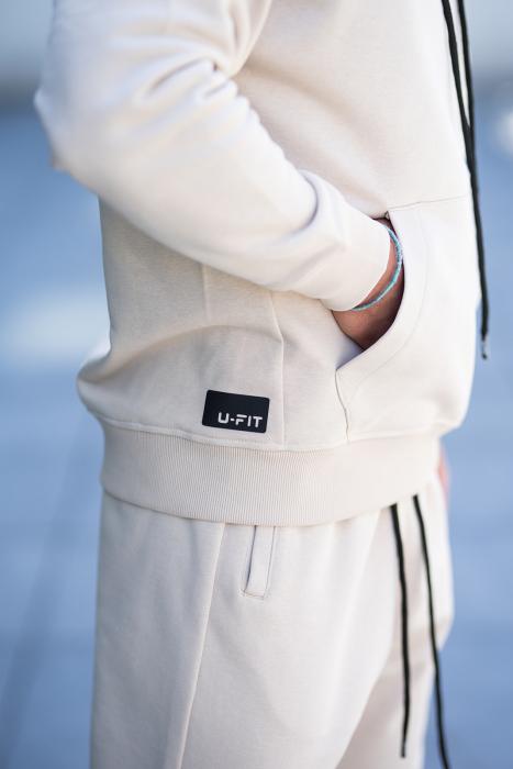 Set Cotton California hanorac si pantalon Light Beige [7]