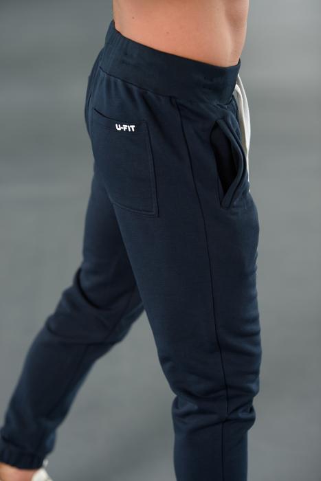 Set Easy-Fit hanorac Oversized si pantalon Easy-Fit Navy [9]
