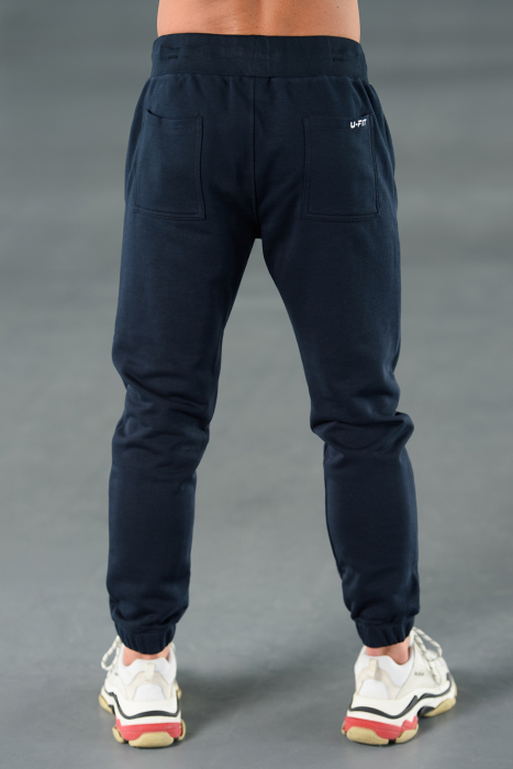 Set Easy-Fit hanorac Oversized si pantalon Easy-Fit Navy [10]
