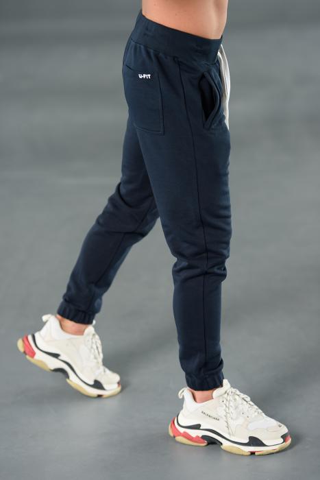 Set Easy-Fit hanorac Oversized si pantalon Easy-Fit Navy [8]