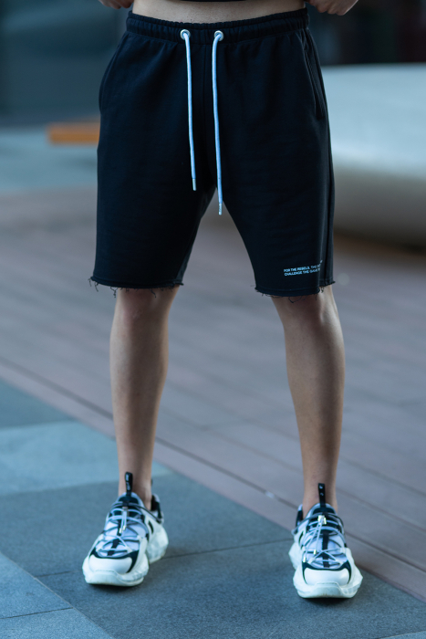 Set Malibu hanorac si pantalon scurt Black [8]
