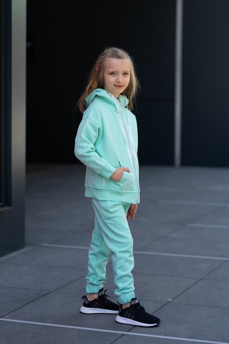 Set Rock-Fit Kids hanorac si pantalon Mint [2]