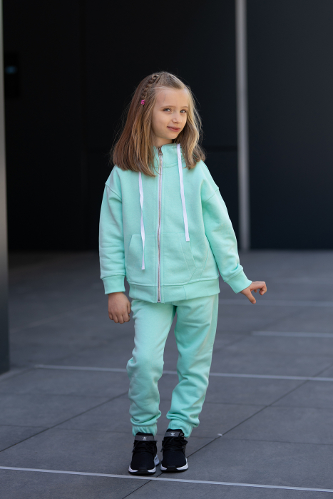 Set Rock-Fit Kids hanorac si pantalon Mint [1]