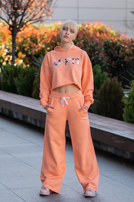Set Love hanorac imprimat si pantalon Papaya [2]