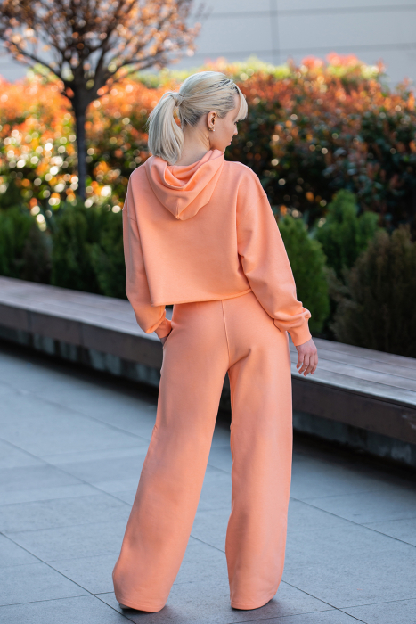 Set Love hanorac imprimat si pantalon Papaya [3]