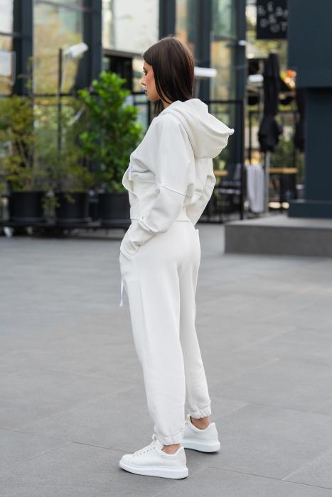 Set Cotton Cloud hanorac si pantalon Off White [2]