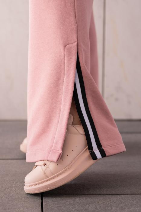 Set Line-Fit hanorac si pantalon Rose Quartz [4]