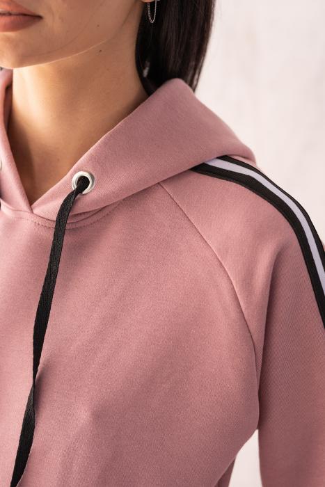 Set Line-Fit hanorac si pantalon Rose Quartz [5]