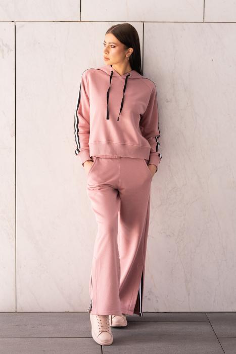 Set Line-Fit hanorac si pantalon Rose Quartz [0]
