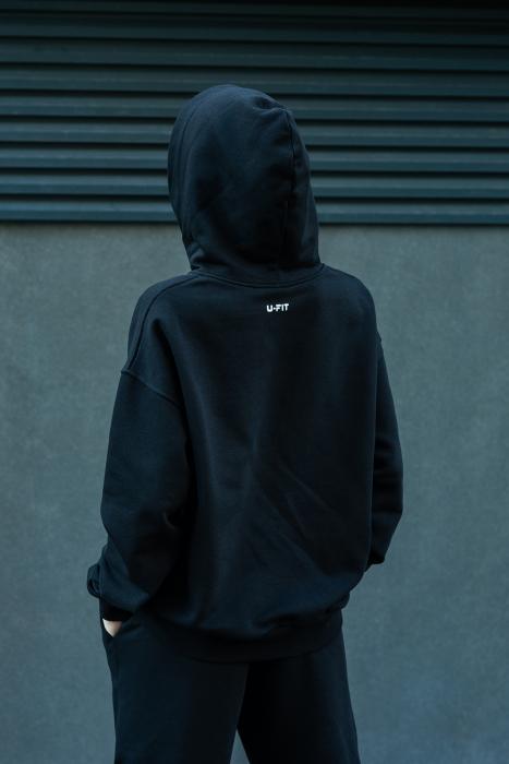 Hanorac Oversized Easy-Fit Black [2]