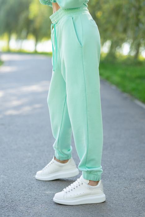 Set Easy-Fit hanorac si pantalon Oversized Mint [6]