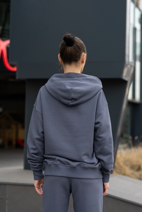 Hanorac Oversized Easy-Fit Anthracite Grey [2]