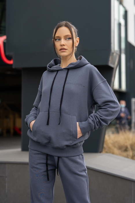 Hanorac Oversized Easy-Fit Anthracite Grey [0]