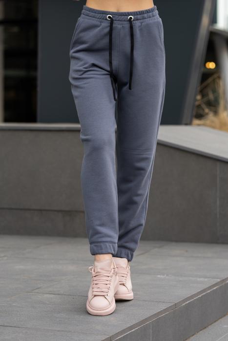 Set Easy-Fit hanorac si pantalon Oversized Anthracite Grey [6]