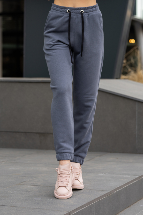 Pantalon Oversized Easy-Fit Anthracite Grey [0]