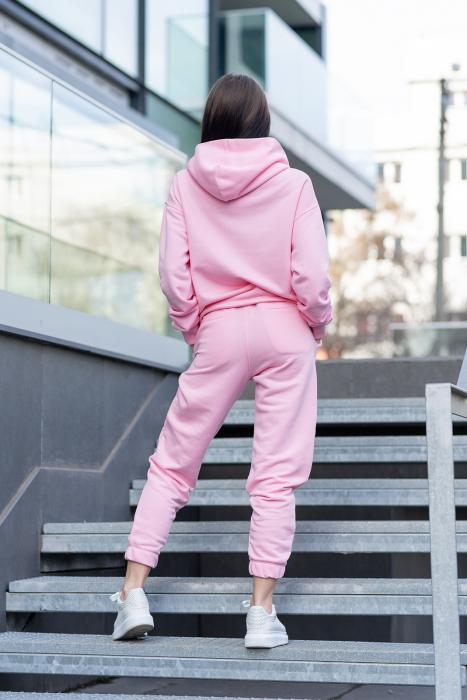 Set hanorac si pantalon Oversized Easy-Fit Rose [5]