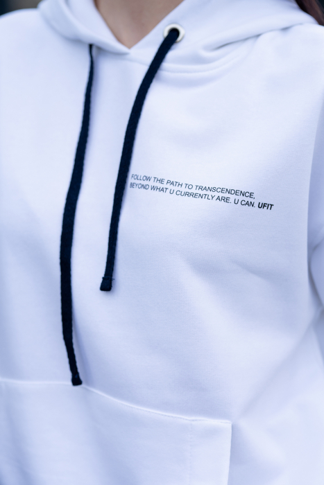 Hanorac Easy-Fit Oversized Off White [5]