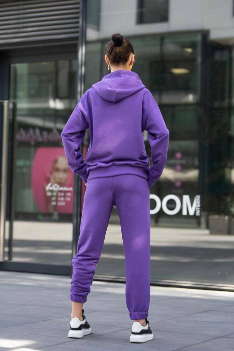 Pantalon Easy-Fit Oversized Mauve [1]
