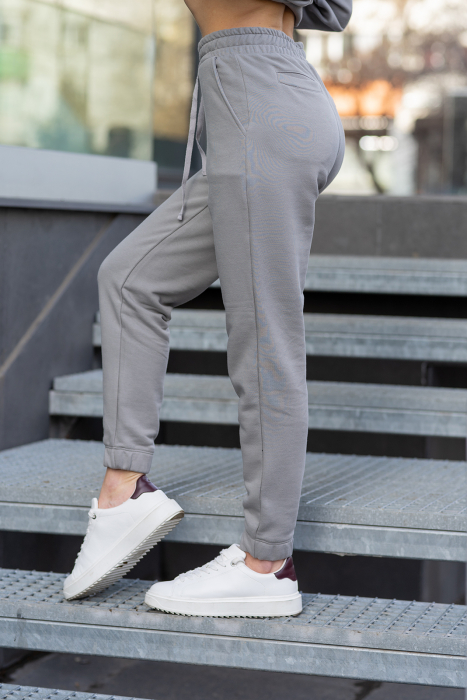 Set hanorac si pantalon Oversized Easy-Fit Grey [6]