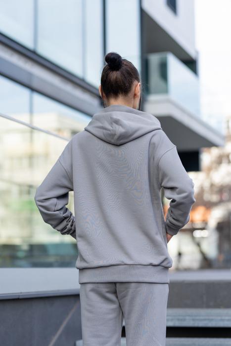 Hanorac Easy-Fit Oversized Grey [1]