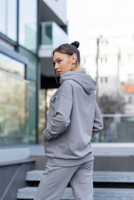 Hanorac Easy-Fit Oversized Grey [2]